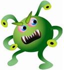 StressMaster Virus klein