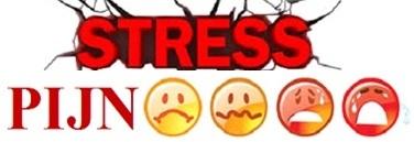 Tekening stress en pijn